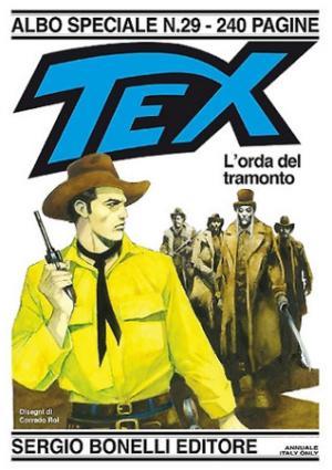 Tex Speciale n. 29 - L'orda del tramonto - Copertina di Corrado Roi