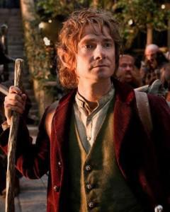 Martin Freeman nel ruolo di Bilbo