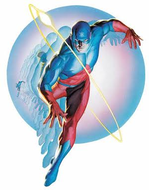 The Atom illustrato da Alex Ross