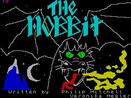 La schermata di caricamento del gioco Lo Hobbit