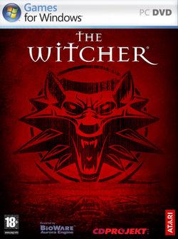 La copertina del primo The Witcher
