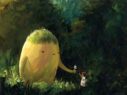 Un'immagine del Totoro Forest Project