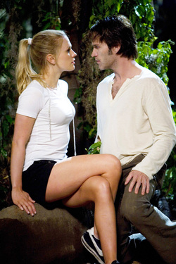 Anna Paquin e Stephen Moyer sono i protagonisti di True Blood: Sookie Stackhouse e Bill Compton
