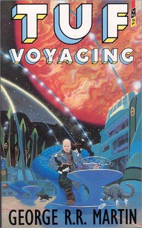 La copertina dell'edizione paperback della Gollancz del 1988 di Tuf Voyaging