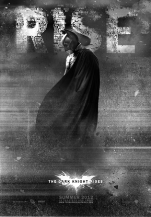 Il nuovo poster di Batman in Batman - The Dark Knight Rises