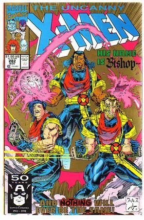 Uncanny X-Men 282 - Cover di Whilce Portacio