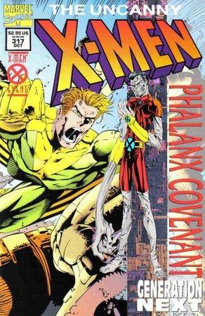 Uncanny X-Men 317 - Cover di Joe Madureira