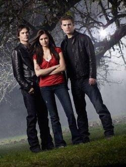 Ian Somerhalder, Paul Wesley e Nina Dobrev. I protagonisti di The Vampire Diaries