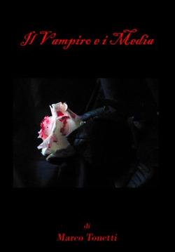 """La copertina di """"Il Vampiro e i Media"""", a cura di Daniele Colla, edizioni Boopen"""