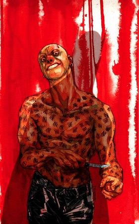 Victor Zsasz in un'illustrazione di Dustin Nguyen