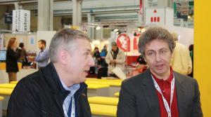 I padri di Dragonero: Luca Enoch (a destra) e Stefano Vietti (a sinistra).
