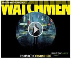 La copertina del CD dello score di Watchmen