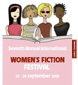 Il logo del Women's Fiction Festival 2010
