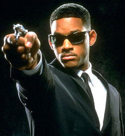 Will Smith in MIB