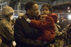 Will Smith e la figlia Willow in Io sono leggenda. Torneranno insieme sullo schermo per The city that Sailed?