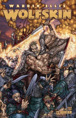 Un'altra variante di copertina per Wolfskin n.1