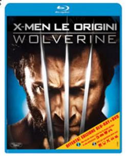 La copertina della versione Blu-ray di Wolverine