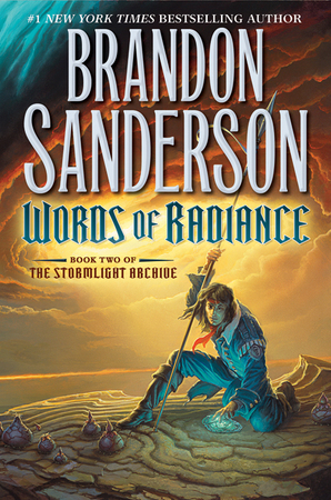 Copertina USA di Words of Radiance di Brandon Sanderson