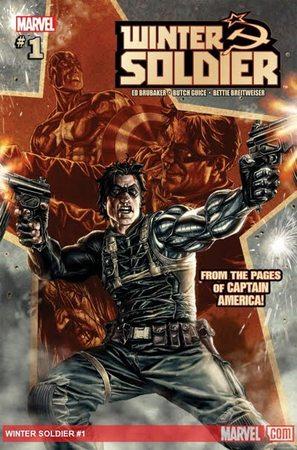 La copertina di The Winter Soldier n.1, disegno di Butch Guice