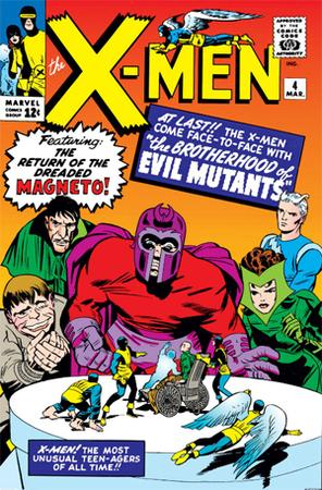 X-Men n.4 - Copertina di Jack Kirby