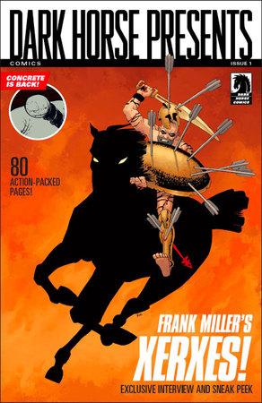 La preview di Xerses in Dark Horse Comics Presents #1.