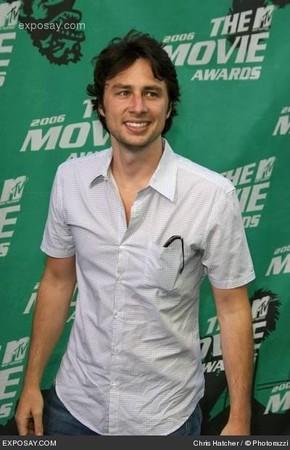 L'attore, sceneggiatore e regista Zach Braff