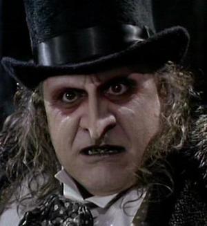 Danny de Vito è Pinguino