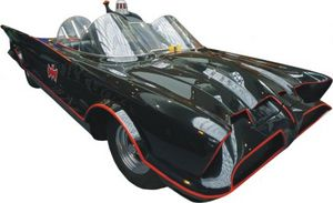 La Batmobile esposta a Torino