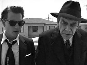 Johnny Depp (Ed Wood) e Martin Landau (Bela Lugosi)