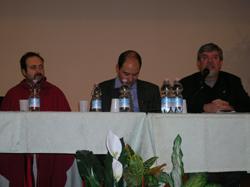 Gianluca Comastri, Edoardo Volpi Kellerman e Paolo Gulisano