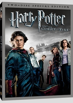 Harry Potter, la copertina americana del dvd