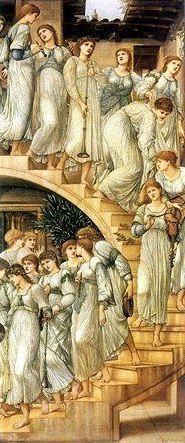 Edward Burne Jones - La scala d'oro