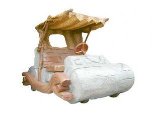 La macchina dei Flintstones esposta a Torino