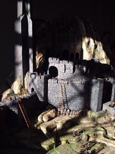 La ricostruzione del fosso di Helm
