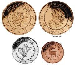 Galeoni, falci e zellini della Banca Grigott