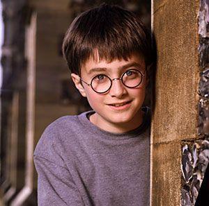 Un giovanissimo Harry Potter