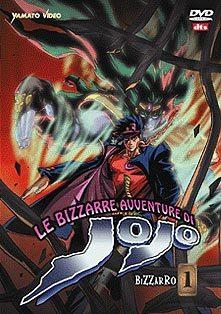La copertina del primo dvd di Jo Jo