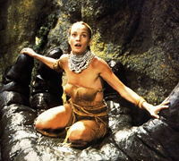 Jessica Lange nelle mani di King Kong