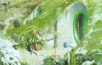 Lo Hobbit - Bilbo (particolare)