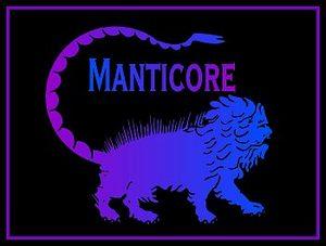 La Manticora, emblema dell'etichetta Manticore