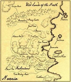 Mappa di Narnia