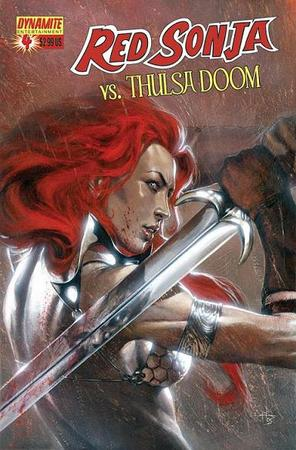 Gabriele dell'Otto per la mini Red Sonja Vs Thulsa Doom