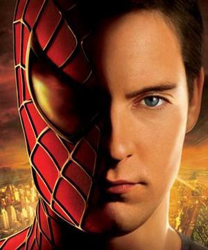 Un particolare del poster di Spider-man 2