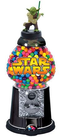 Il distributore di chewingum di Yoda (non c'è più rispetto per i Jedi :))