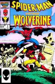 Spider-Man vs. Wolverine #1 - High Tide. Cover di Mark Bright