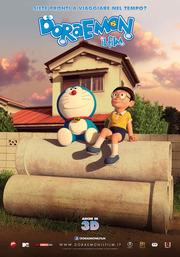 Doraemon, il poster italiano