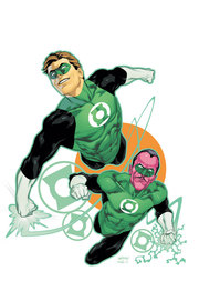 Hal Jordan e Sinestro