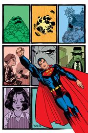 Una cover interna di Superman: Kryptonite