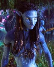 Zoe Saldana è Naytiri