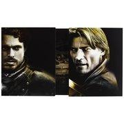 Richard madden/Robb Stark e Nikolaj Coster-Waldau/Jaime Lannister